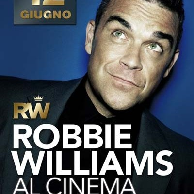Robbie Williams live al cinema