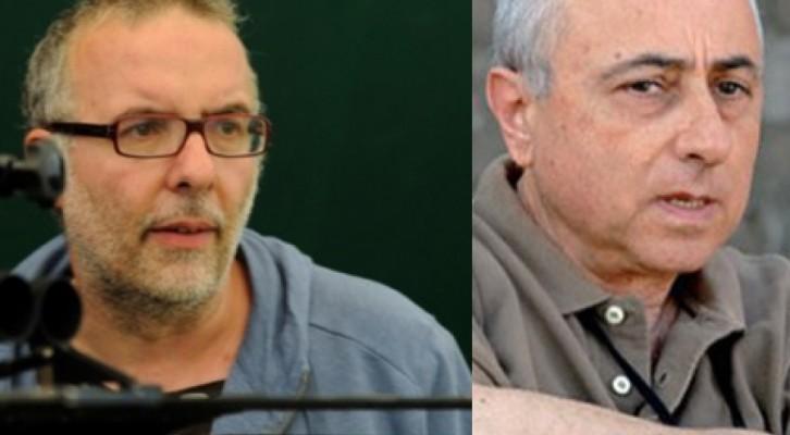 Luca Miniero e Roberto Faenza sul set in Alto Adige