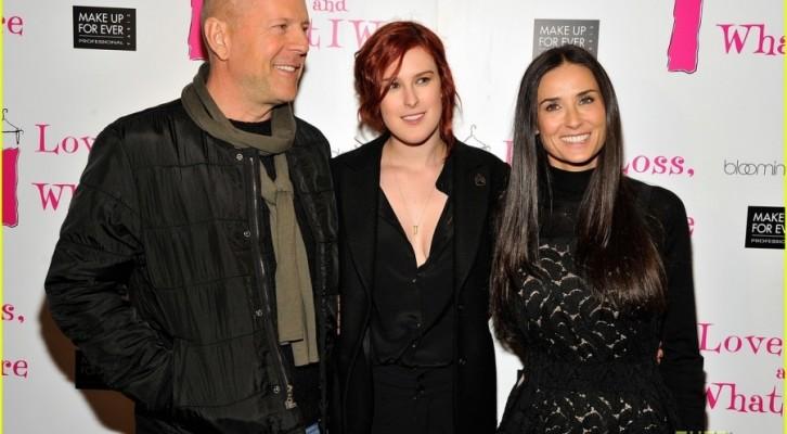 La figlia di Demi Moore e Bruce Willis sul set di Pretty Little Liars