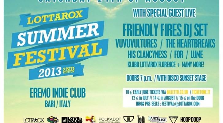 Lottarox Summer Festival 2013