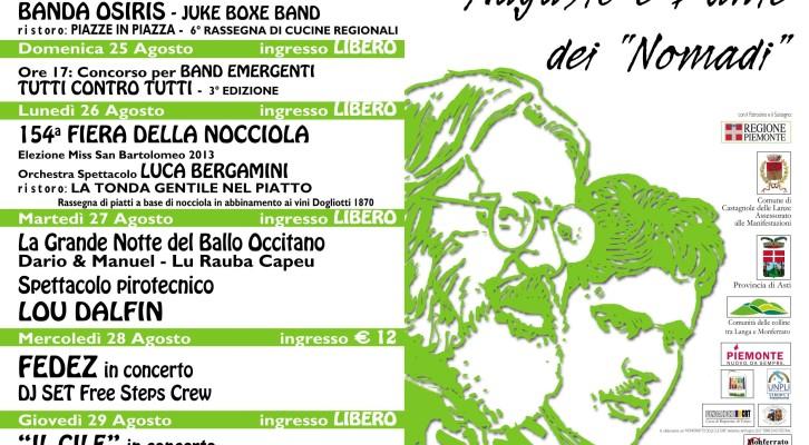 Festival della canzone d'impegno per ricordare Augusto e Dante dei Nomadi