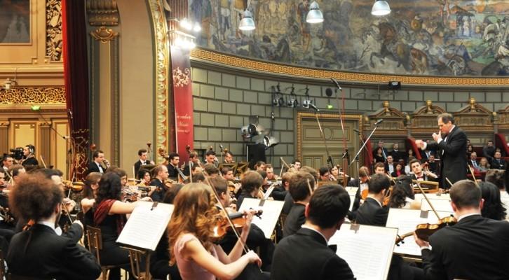 Orchestra Giovanile Nazionale Rumena a Ravello Festival
