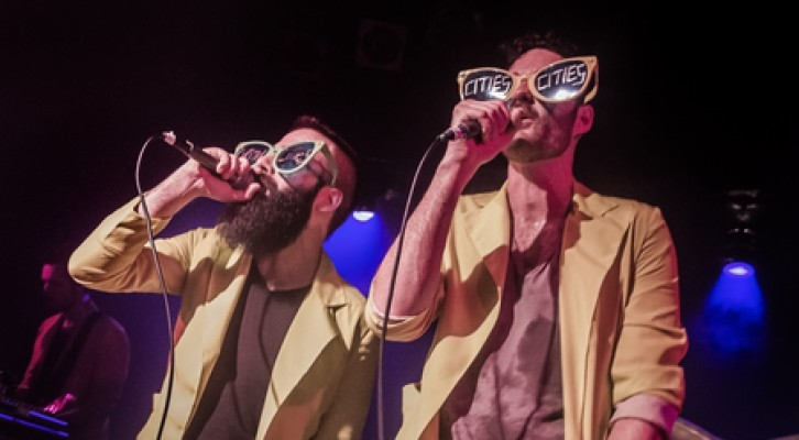 """Capital Cities """"In a Tidal wave of mistery"""