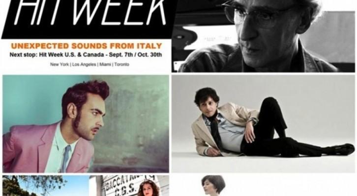 Hit Week, la musica italiana alla conquista del mondo