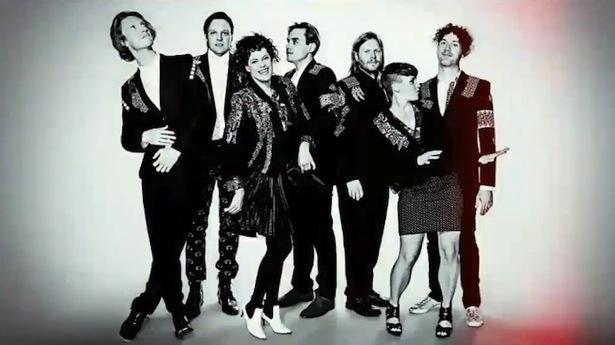 Gli Arcade Fire presentano alcuni brani del loro attesissimo Reflektor