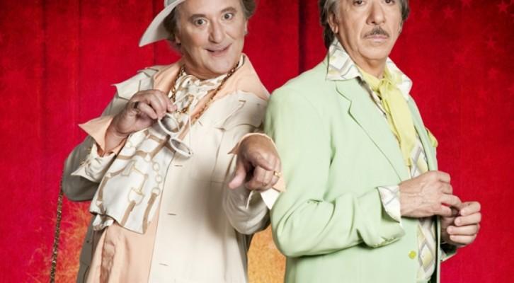 Enzo Iacchetti e Marco Columbro in scena con Il Vizietto – La Cage Aux Folles