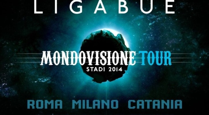 Ligabue da maggio in partenza con Mondovisione Tour – Stadi 2014