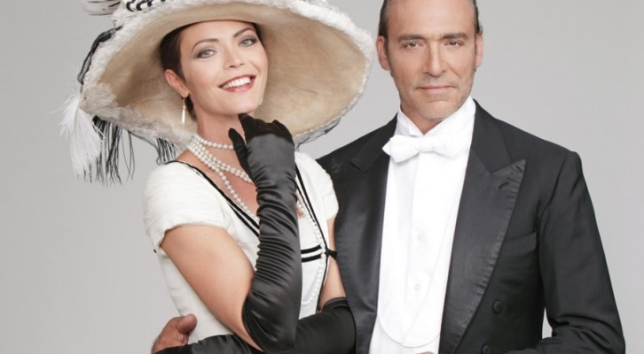 Vittoria Belvedere e Luca Ward in My Fair Lady