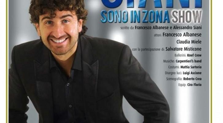 Alessandro Siani in tour con Sono in Zona