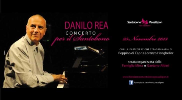 Danilo Rea, un concerto per il SantobonoPausilipon