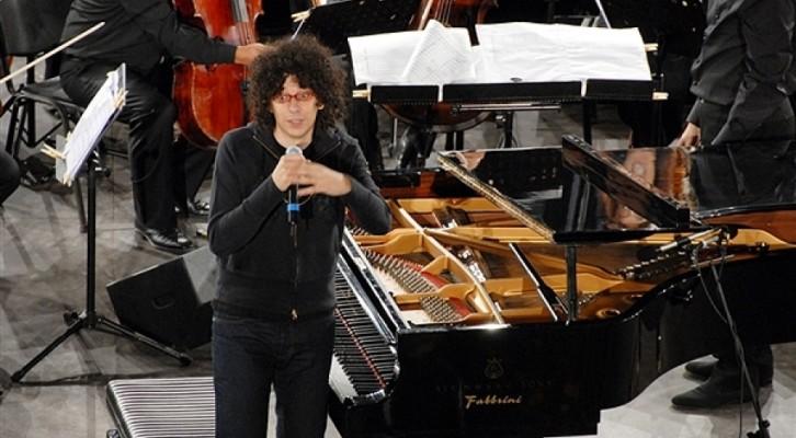 Giovanni Allevi con l'Orchestra Sinfonica Italiana al Ravello Festival
