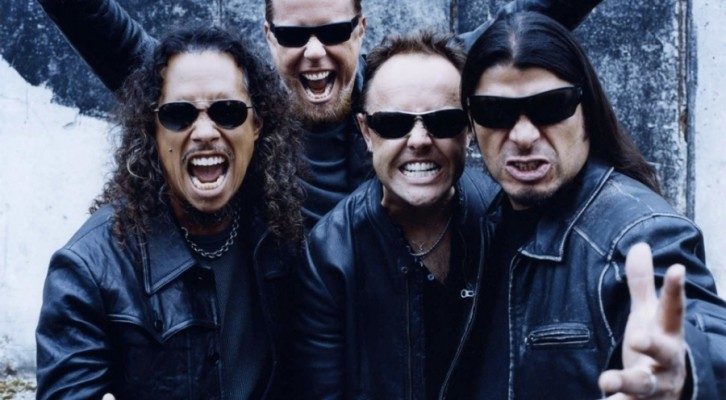 Metallica al Postepay Rock in Roma 2014