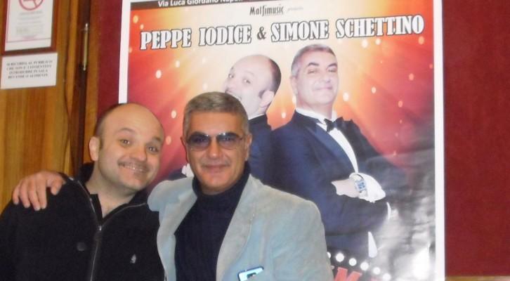 Peppe Iodice e Simone Schettino insieme presentano 'Comicissima sera show'