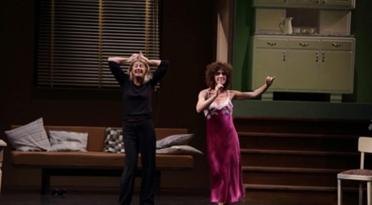"""Angela Finocchiaro e Maria Amelia Monti in """"La scena"""""""