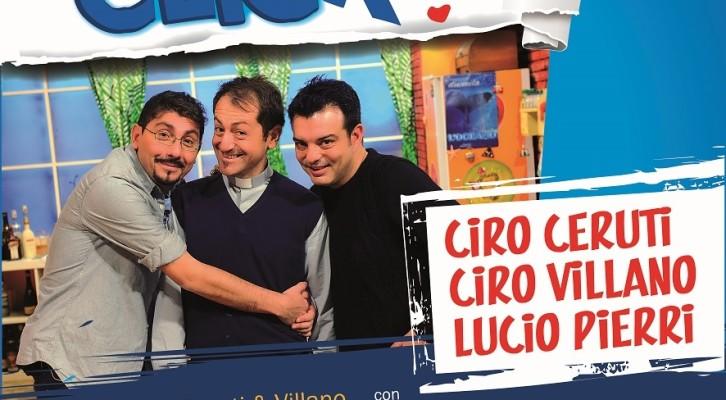 """Ceruti e Villano dopo otto anni tornano in scena con """"Click"""""""