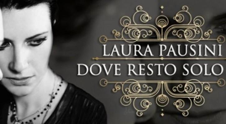 Laura Pausini dedica al suo pubblico 'Dove resto solo io'
