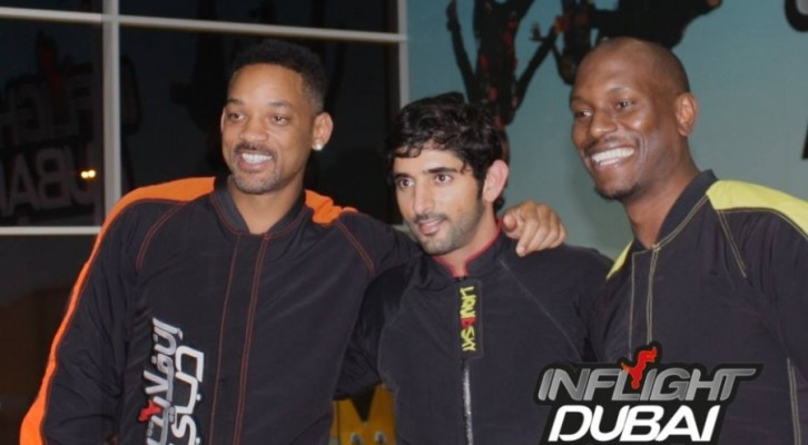 Tyrese & Will Smith di rientro dalla vacanza a Dubai..