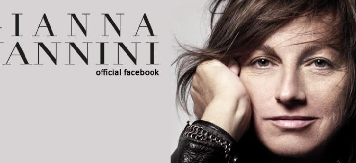 Gianna Nannini ringrazia ufficialmente su facebook 1milione di fan