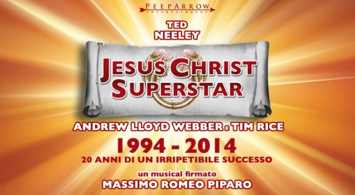 "I Negrita nel Cast  del ""Jesus Christ Superstar"""