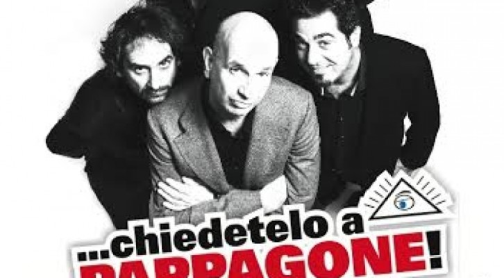 Stefano Sarcinelli in …chiedetelo a  Pappagone!