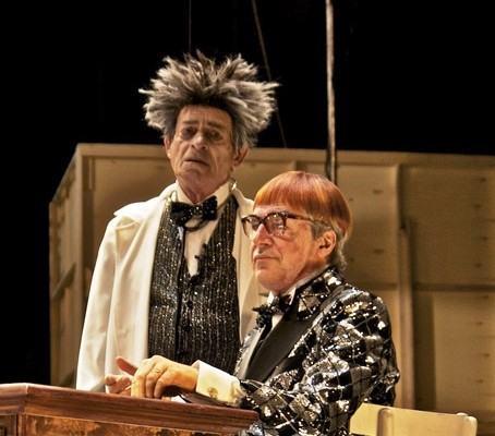 """Pagni e Solenghi """"i ragazzi irresistibili"""" del teatro Mercadante di Napoli"""