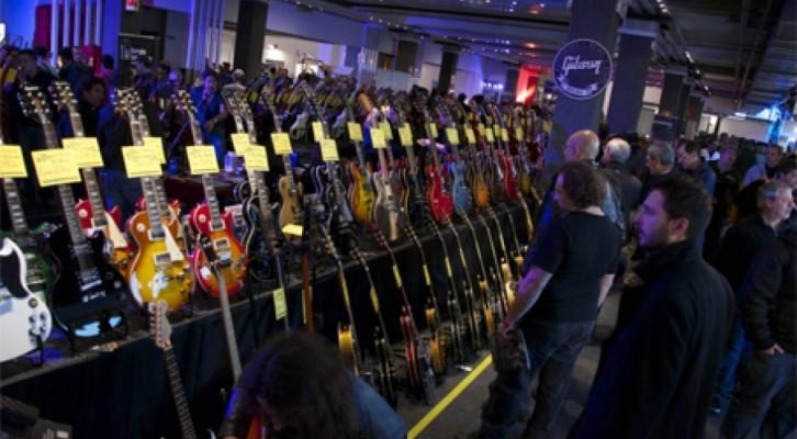 Second Hand Guitars & Ritmi Show 12 e 13 aprile 2014 presso la Mostra d'Oltremare