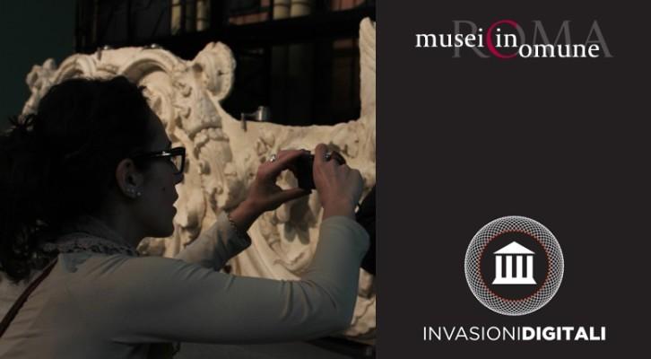 Invasioni digitali nei musei romani