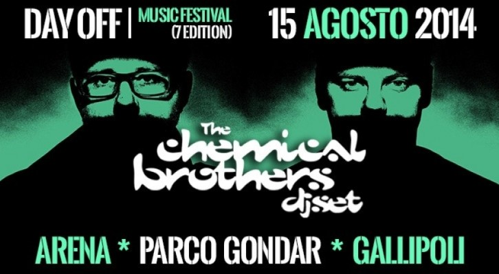 """I Chemical Brothers, protagonisti del """"Day Off Music Festival"""""""