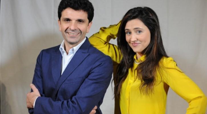 """Michele Caputo e Ilenia Lazzarin in """"Come sopravvivere ai lavori in casa"""""""