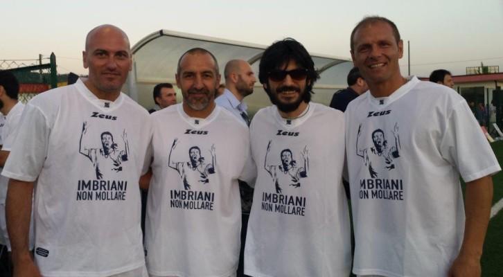 In Campo per Carmelo Imbriani a Benevento