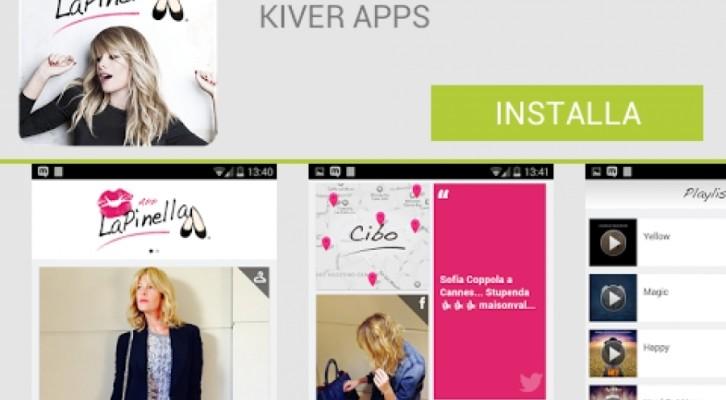Alessia Marcuzzi, festeggia due anni di Lapinella e lancia l'app mobile