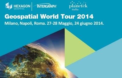 Geospatial world tour 2014
