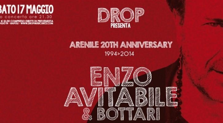 L'Arenile compie 20 anni e festeggia con Enzo Avitabile e I Bottari di Portico