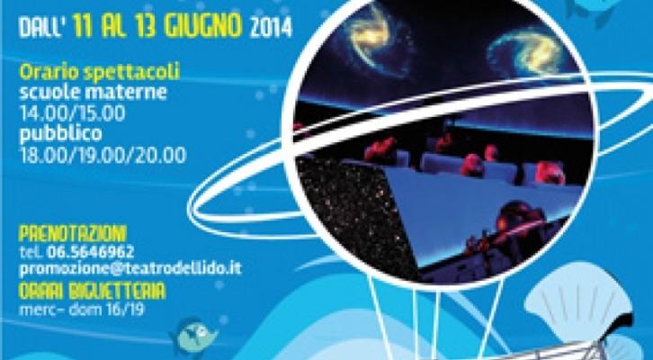 Il Planetario vola al Teatro del Lido di Ostia