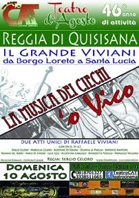 Il Grande Viviani, da Borgo Loreto a Santa Lucia due atti unici