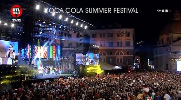 L'estate ha il sapore del Coca Cola Summer Festival