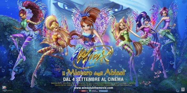 Le Winx – nuove Sirene Rock – al Giffoni Experience Winx Club 3 – Il Mistero degli Abissi
