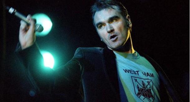 Morrissey torna nella sua amata Italia