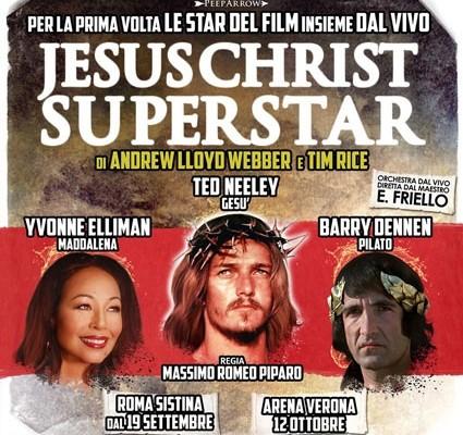 Ted Neeley, Yvonne Elliman e Barry Dennen: di nuovo insieme in Jesus Christ Superstar