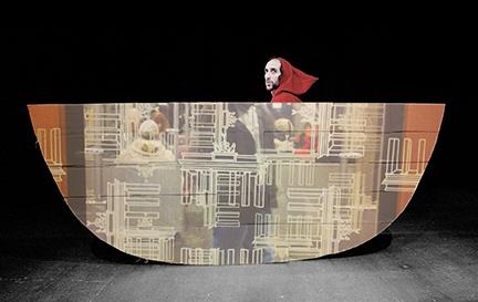 """Al Festival Teatri di Vetro va in scena """"L'uomo nel diluvio"""""""