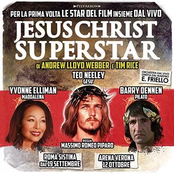 Jesus Christ Superstar, la prima assoluta al Teatro Sistina di Roma con i protagonisti dello storico film