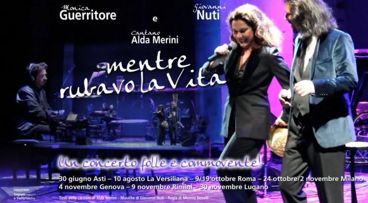 """Monica Guerritore e Giovanni Nuti: nuove tappe per """"Mentre Rubavo La Vita…!"""""""