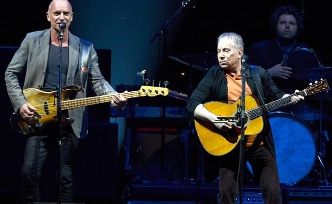 On Stage Togheter: dirittura d'arrivo per il tour di Sting e Paul Simon