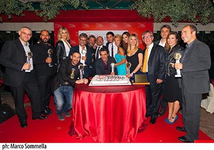 Gala Cinema e Fiction in Campania, i vincitori della settima edizione