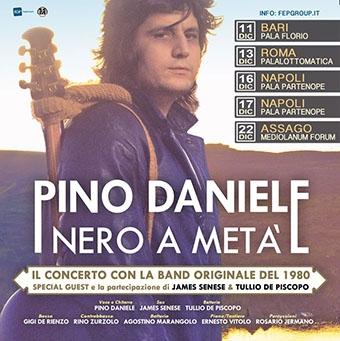 Pino Daniele: 5 nuove date per il suo Nero a metà