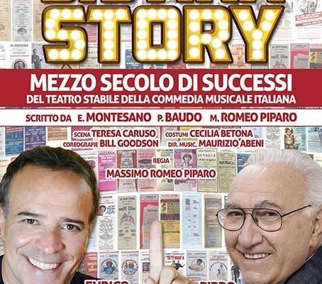 Sistina Story: apre la stagione la coppia Enrico Montesano e Pippo Baudo
