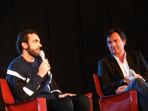 Marco Mengoni all'Università di Milano: La musica va pagata