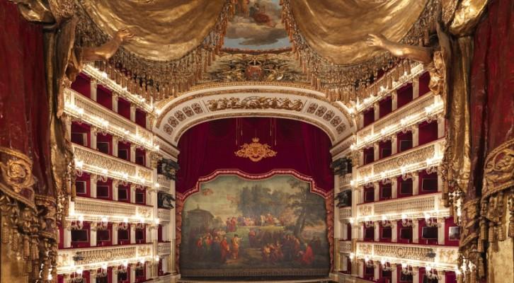 Teatro San Carlo progetto di Napoli Rotary