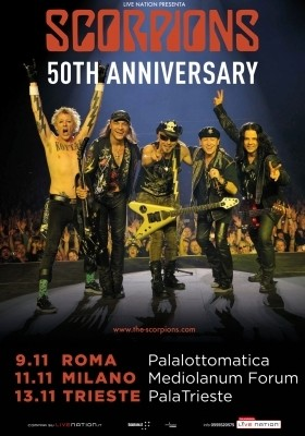 Scorpions: festeggiano 50 anni di carrier con un tour e un nuovo album