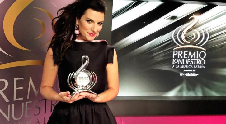 Laura Pausini: a Miami vince il Premio Lo Nuestro alla carriera